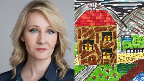 JK Rowling praises Pakistani girl's illustration inspired by her new book