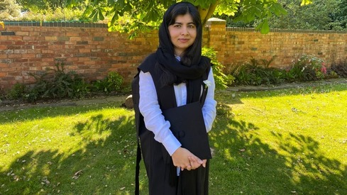 Malala congratulates class of 2020 in virtual graduation ceremony