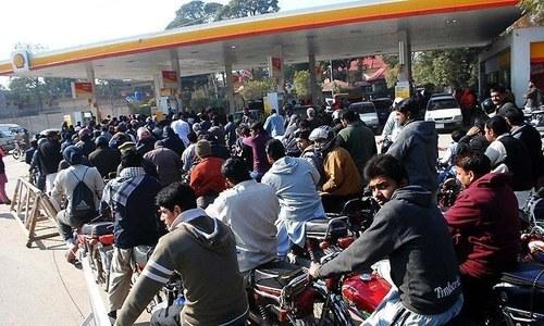 As petrol shortages persist, minister blames 'mafias'