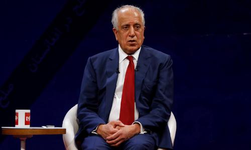 Hopes rise for Afghan peace talks after Khalilzad's visit