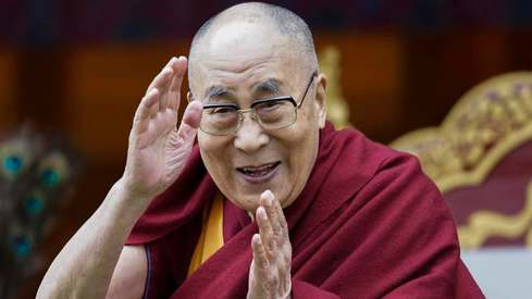 So the Dalai Lama is releasing an album on his 85th birthday