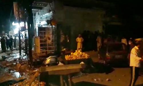 1 dead, 12 injured in explosion in Rawalpindi's Saddar area