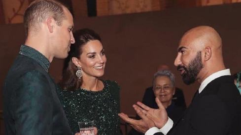 HSY recalls Prince Charles and Lady Diana's wedding procession