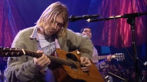 Kurt Cobain's MTV unplugged guitar sells for $6 million at auction