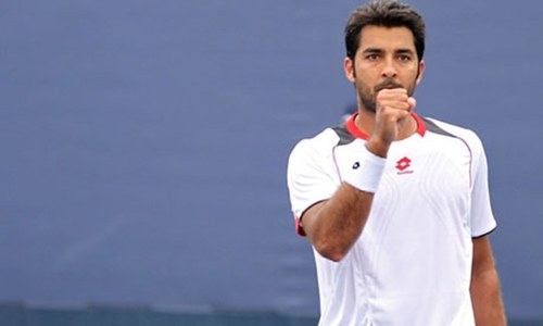 Tennis star Aisam represents Pakistan on Olympic Day