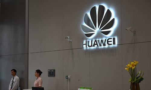 Huawei opens Shanghai flagship store as US pressure grows
