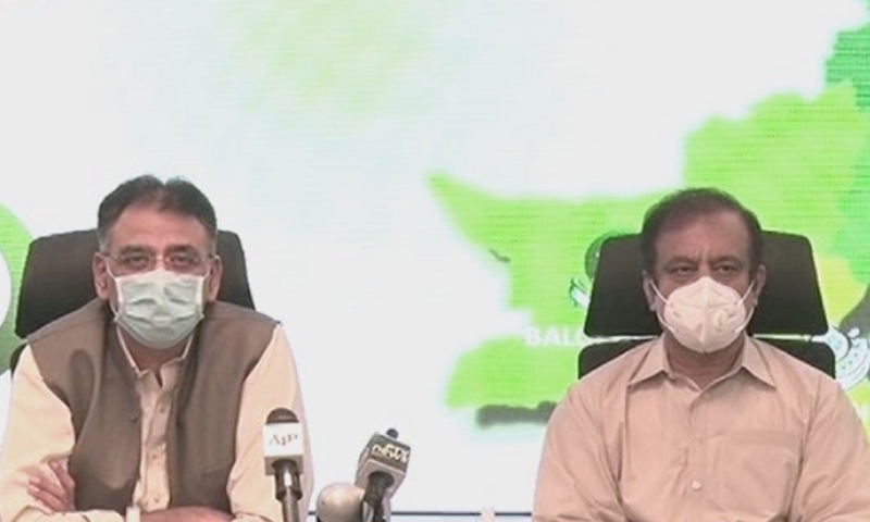 Asad Umar says number of Covid-19 cases in end June to be lower than earlier predicted