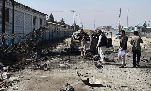 Bomb kills two human rights workers in Kabul