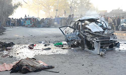 Roadside bomb kills six Afghan civilians in Helmand province