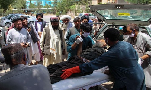Car bombing, mortar attacks kill 23 in Afghanistan