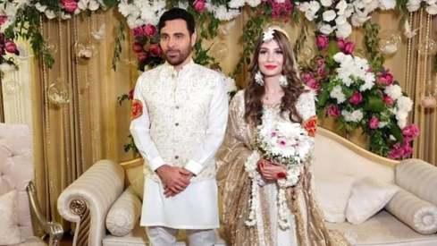 Singer Haroon Rashid ties the knot