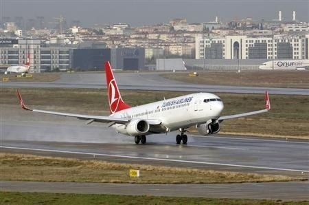 Turkish Airlines allowed to operate flights from three cities