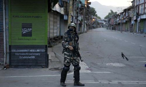 Occupied Kashmir sees 229 killings in first half of 2020: report
