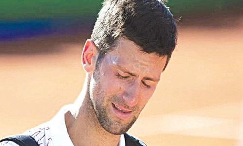 Djokovic, wife test negative for coronavirus