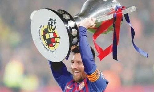 میسی بارسلونا سے معاہدے میں توسیع کے خواہاں نہیں، رپورٹ