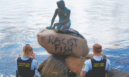 Denmark's Little Mermaid vandalised
