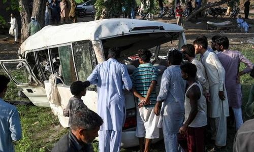 22 killed as train rams into coach carrying Sikh pilgrims
