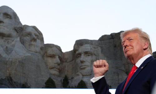 بائیں بازوں کا ثقافتی انقلاب امریکا کی بنیادیں ہلا رہا ہے، ٹرمپ