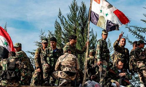 شام:حکومتی فورسز کی داعش سے جھڑپیں، 80 سے زائد افراد ہلاک