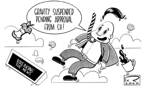 کارٹون : 5 جولائی 2020