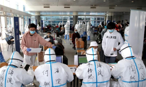 WHO reports record hike in virus cases