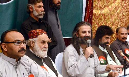 Bugti's grandsons withdraw case on Sui land