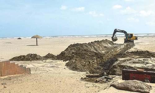 کلفٹن کے ساحل پر ترقیاتی منصوبے سے سنگین ماحولیاتی اثرات کا اندیشہ