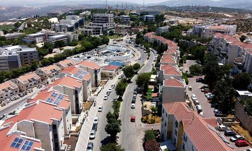 مغربی کنارے کے اسرائیل میں انضمام کے بعد زمین کی قیمتوں میں اضافے کا امکان