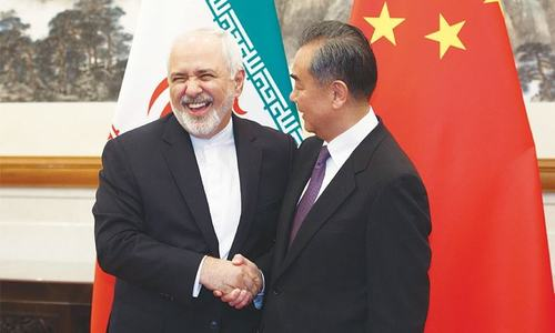 Iran negotiating strategic accord with China
