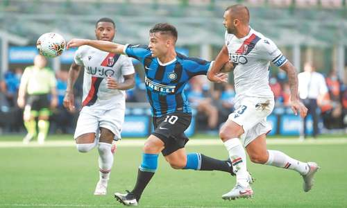 Inter title hopes all but over after Juwara gives Bologna surprise win