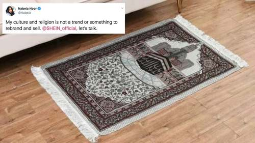 Chinese retailer Shein apologises for selling Muslim prayer rugs as decorative mats