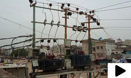 کراچی میں بارش کے بعد اب تک کئی علاقوں میں بجلی بحال نہ ہوسکی