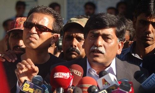 ذوالفقار مرزا سے جیل میں خیریت معلوم کرنے علاوہ کوئی بات نہیں ہوئی، آفاق احمد