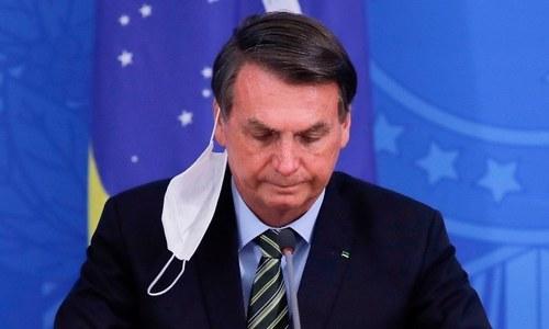 کورونا کا انکار کرنے والے برازیلی صدر کا ٹیسٹ مثبت آگیا