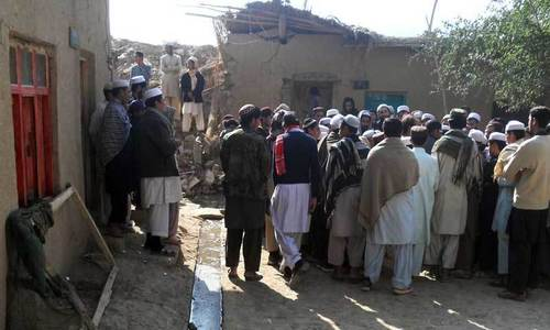 MNA, family unhurt as rocket fired at his Bajaur house