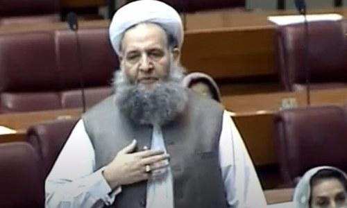مندر کے معاملے کو بعض مذہبی، سیاسی عناصر نے ایشو بنایا، نورالحق قادری