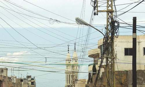 No progress made on directives issued to remove cables from city, court told