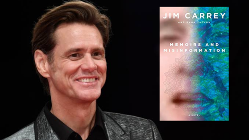 Jim Carrey's latest novel is an 'anti-memoir' on his life