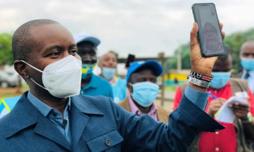 کینیا میں انٹرنیٹ کی فراہمی کے لیے غباروں کا استعمال