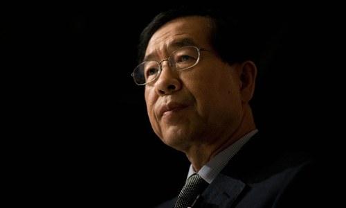 جنوبی کوریا: سیئول کے میئر 'ہراسانی کے الزام'  کے بعد مردہ حالت میں پائے گئے