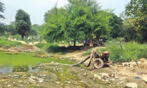 Sewage – a perennial problem in Okara