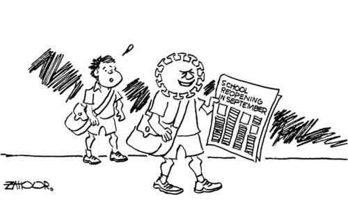 Cartoon: 11 July, 2020