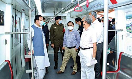 CM reviews preparations for launch of Orange train