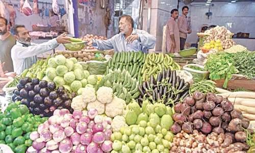 افراط زر کے دباؤ کی وجہ غذائی اشیا کی قیمتوں میں اضافہ ہے، اسٹیٹ بینک
