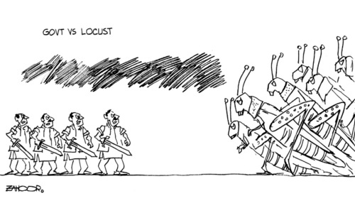 Cartoon: 12 July, 2020