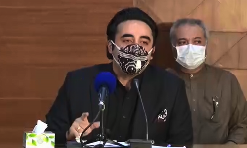 Bilawal says govt reduced testing 'on purpose', questions claim of slowing virus cases