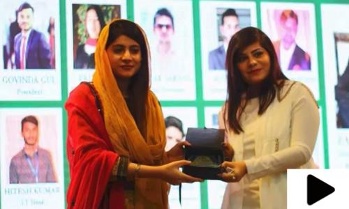 پاکستانی طالبہ نے برطانوی ادارے سے چارٹرڈ آف آیوش کا اعزاز حاصل کرلیا