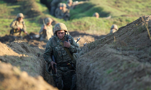 Armenia-Azerbaijan border fighting escalates; 16 killed