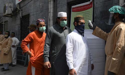 کورونا وبا: آزاد کشمیر میں کیسز گلگت بلتستان سے زیادہ، ملک میں متاثرین 2 لاکھ 58 ہزار کے قریب