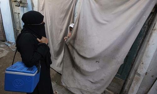 Three more polio cases found in KP